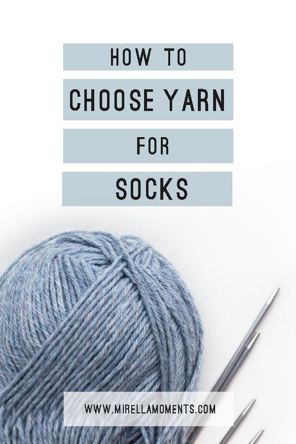 Yarn For Knitting Socks